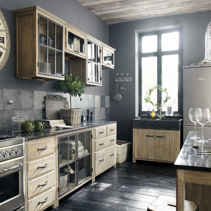 id e relooking cuisine meuble haut vitr de. Black Bedroom Furniture Sets. Home Design Ideas