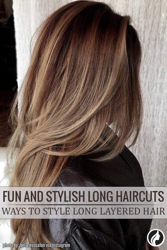 Mode coiffure cheveux long 2018