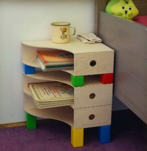 relooking et d coration 2017 2018 table de nuit diy chambre enfant ikea hack inspiration. Black Bedroom Furniture Sets. Home Design Ideas