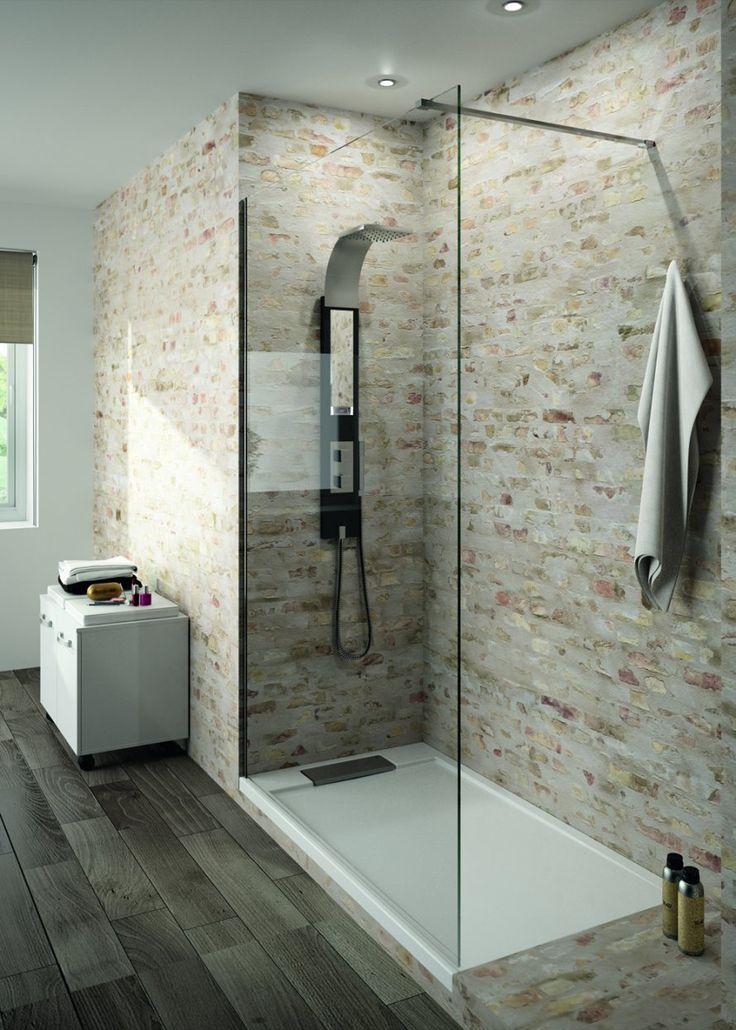 Idée Décoration Salle De Bain - Douche Italienne > Www.M-Habitat