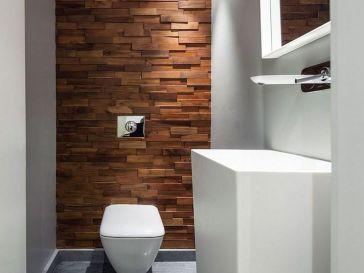id e d coration salle de bain salle de bains moderne avec carrelage mural et de sol imitation. Black Bedroom Furniture Sets. Home Design Ideas