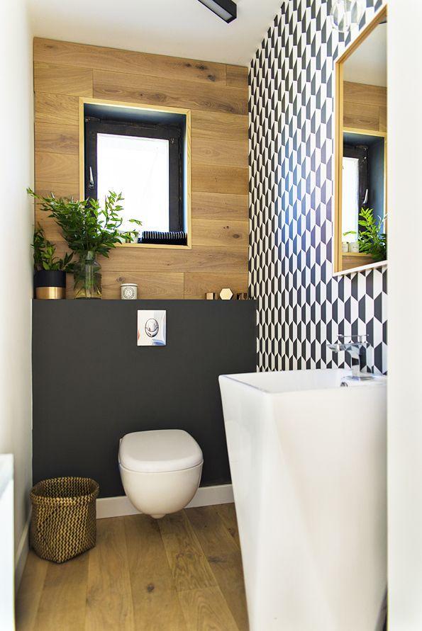 Id e d coration salle de bain petite salle de bains d co for Deco salle de bain bois