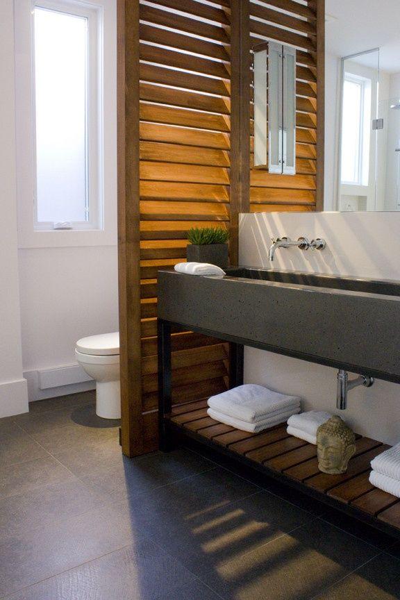 Ide dcoration Salle de bain  Salle de bain  amnagement Ides de sparation des wc