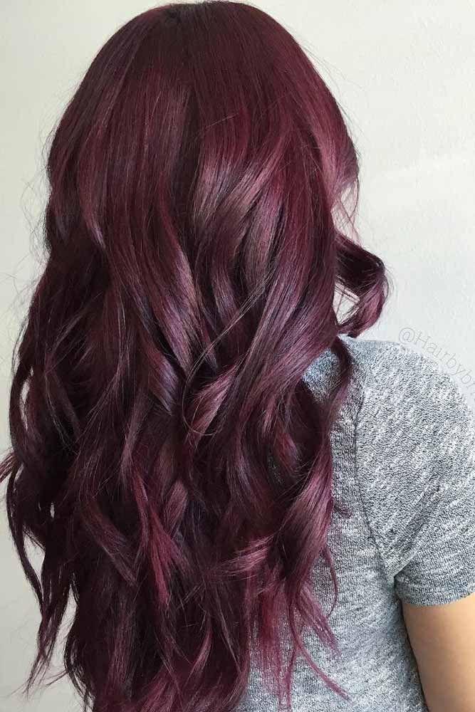 Coloration cheveux roux 2018