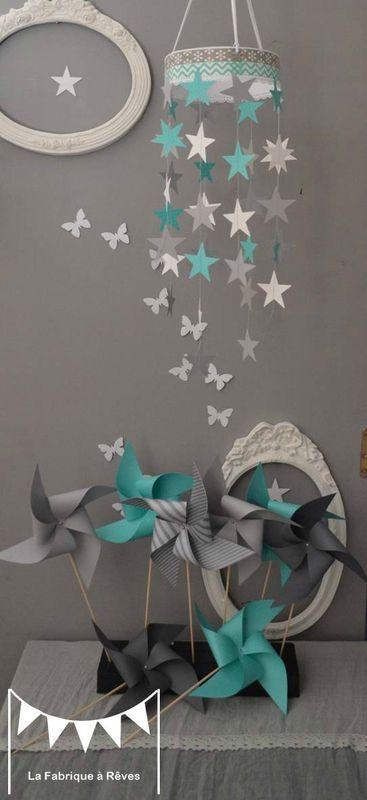 chambre bb turquoise et gris fabulous deco chambre bebe turquoise et gris with chambre bb. Black Bedroom Furniture Sets. Home Design Ideas