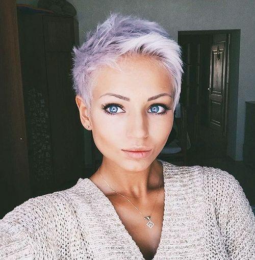 Idées Coupe cheveux Pour Femme 2017 / 2018 \u2013 40 coiffures courtes et  faciles à coiffer \u2026