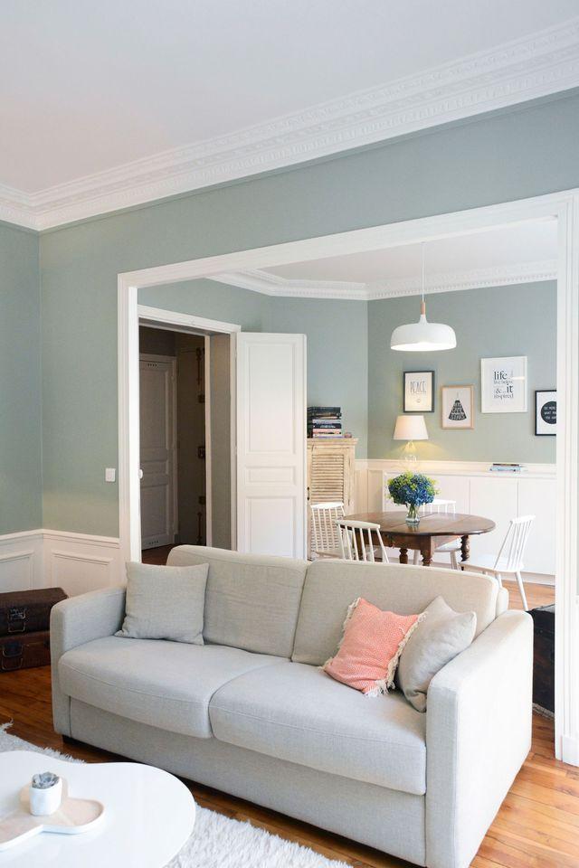 Déco Salon - Un 55 m2 entre charme de l\'ancien et inspiration ...