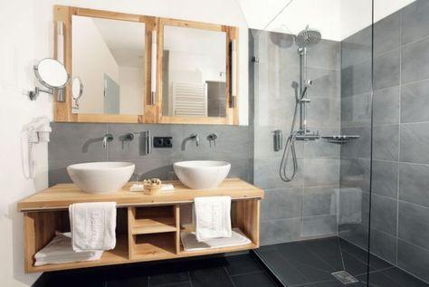 Id e d coration salle de bain d co de salle de bain for Idee salle de bain grise