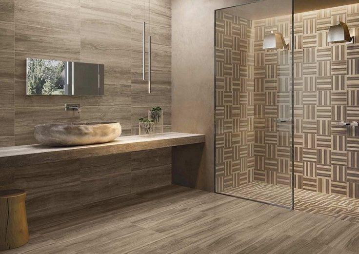 idée décoration salle de bain - salle de bain moderne avec un ... - Carrelage Mural Salle De Bain Moderne