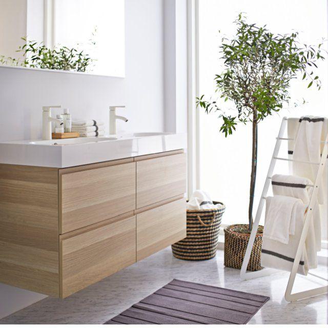 Idée décoration Salle de bain - Une salle de bains scandinave IKEA ...