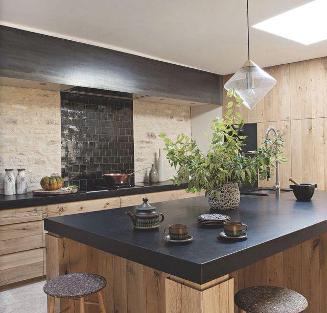 Relooking cuisine bois trendy cuisine gris et bois en for Relooking cuisine bois