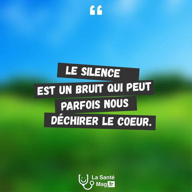 Citation Le Silence Est Un Bruit Qui Peut Parfois Nous