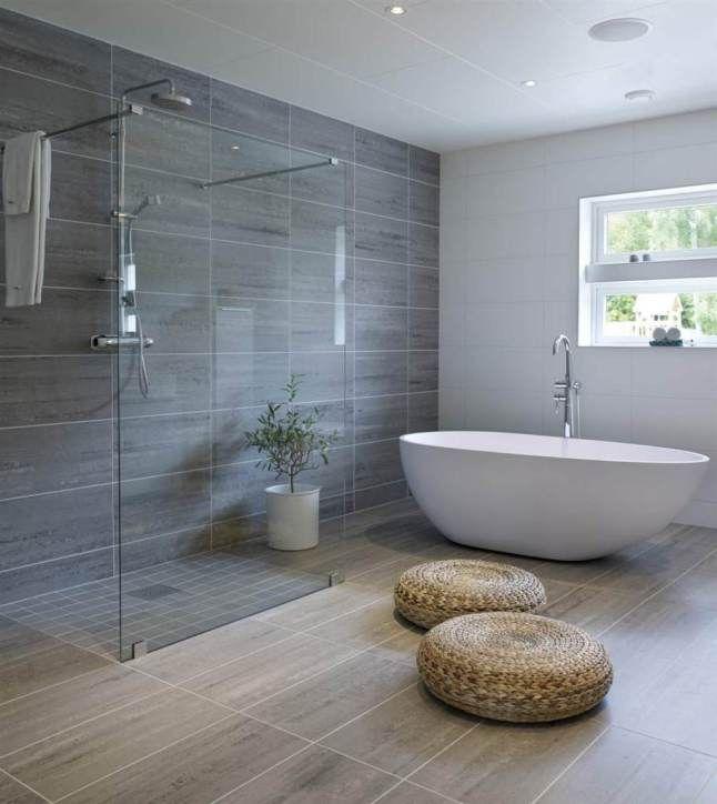 idée décoration salle de bain - une grande salle de bains avec ... - Photo De Salle De Bain Avec Douche