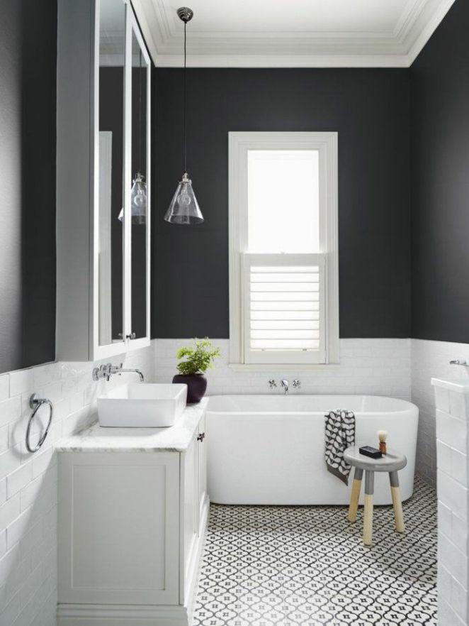 Faience mosaique salle de bain moderne description for Faience salle de bain noir et blanc
