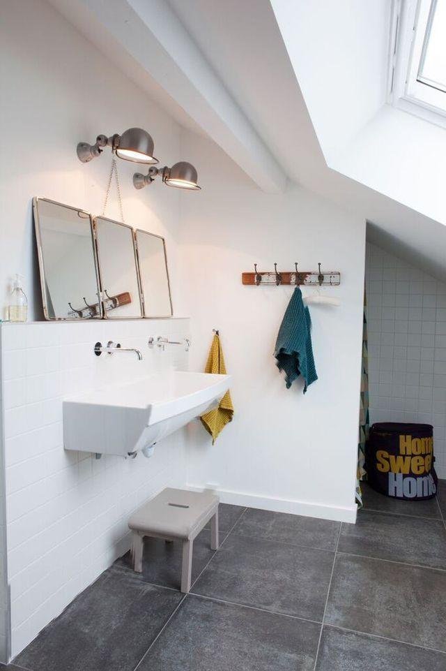 salle de bain familiale bien lamnager pour parents et enfants ... - Salle De Bain Enfant