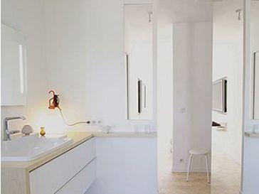 id e d coration salle de bain carrelage imitation. Black Bedroom Furniture Sets. Home Design Ideas