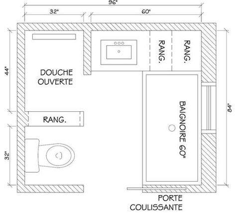 Idée Décoration Salle De Bain Plan Salle De Bain ListSpirit - Plan salle de bains