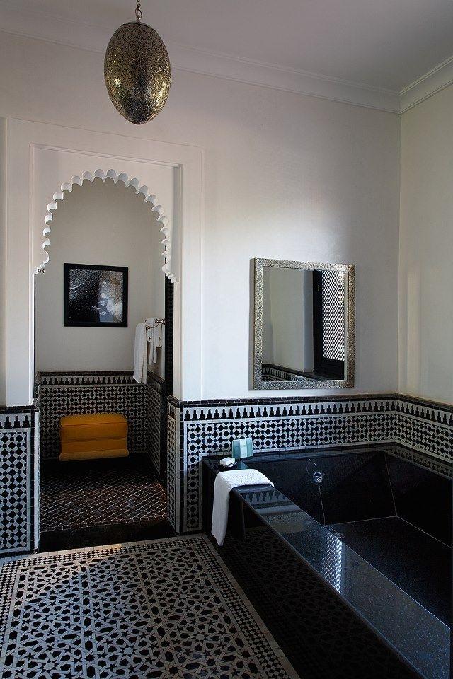 zellige salle de bain moderne