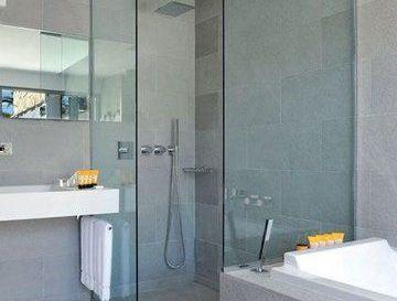 idée décoration salle de bain - carrelage mural grand format 3d en ... - Faience Salle De Bain Grand Format