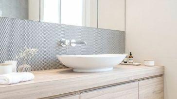 Id e d coration salle de bain salle de bain design for Idee amenagement salle de bain pas cher