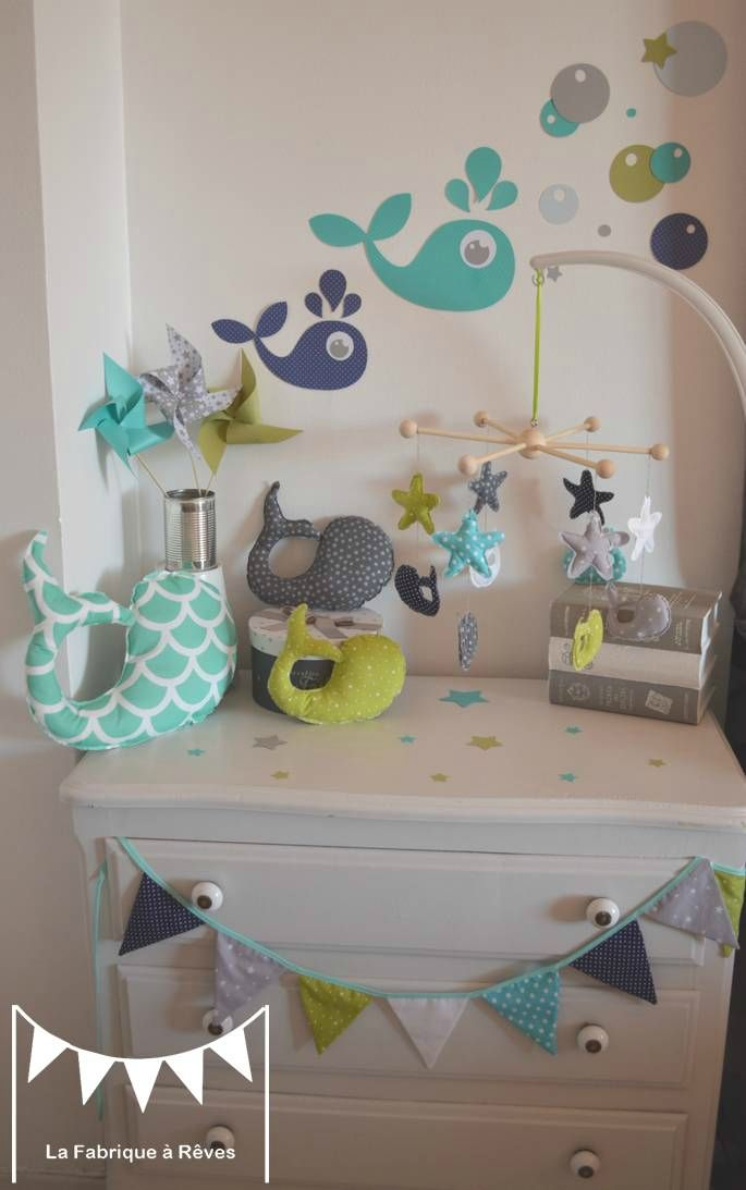 Chambre Garcon Turquoise