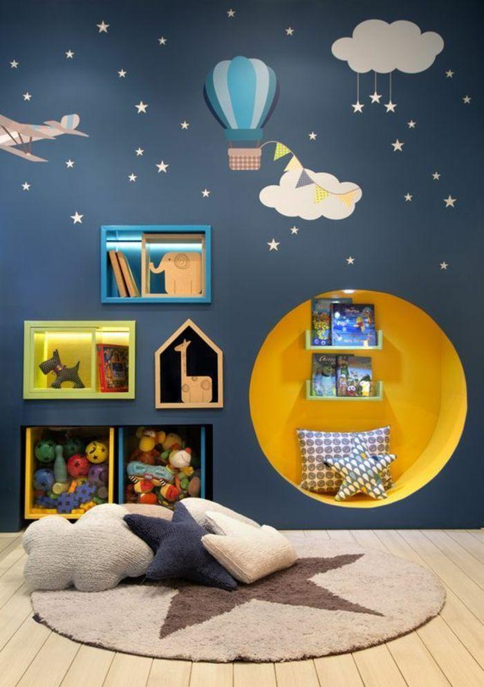 Chambre Bebe Bleu Ciel