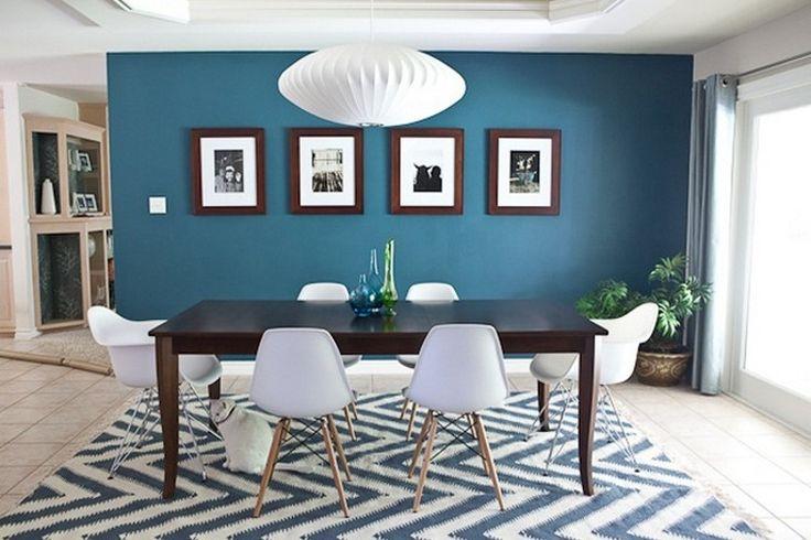 Dco Salon  Bleu canard avec quelle couleur pour un intrieur dco  ListSpiritcom  Leading