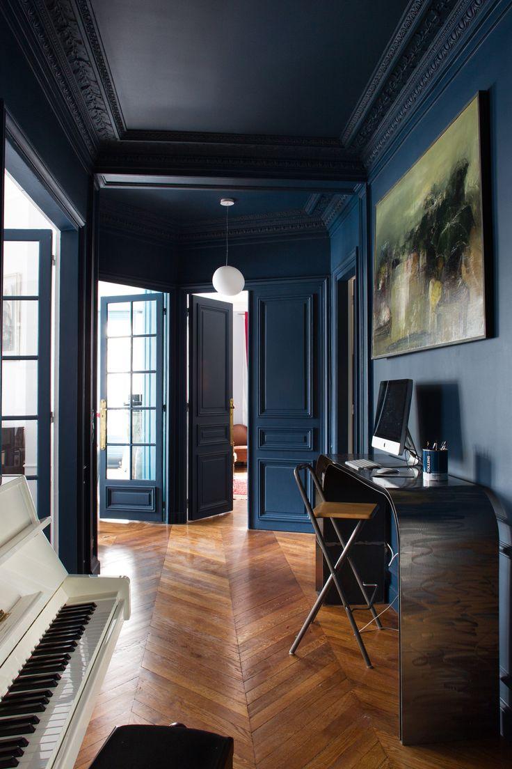 Deco Salon Bleu Petrole Bleu Canard Dans Votre Chambre à