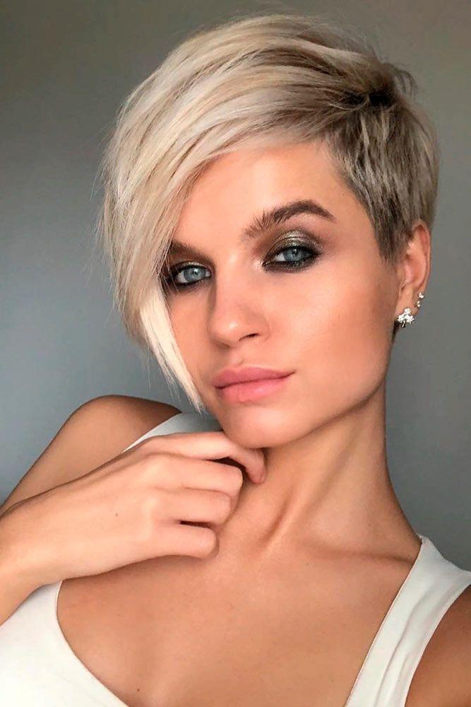 Coupe de cheveux femme asymetrique 2019