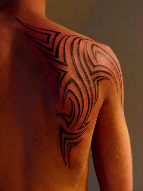 Tribal Tatoo On Shoulder : tribal, tatoo, shoulder, Popular, Tribal, Tattoos