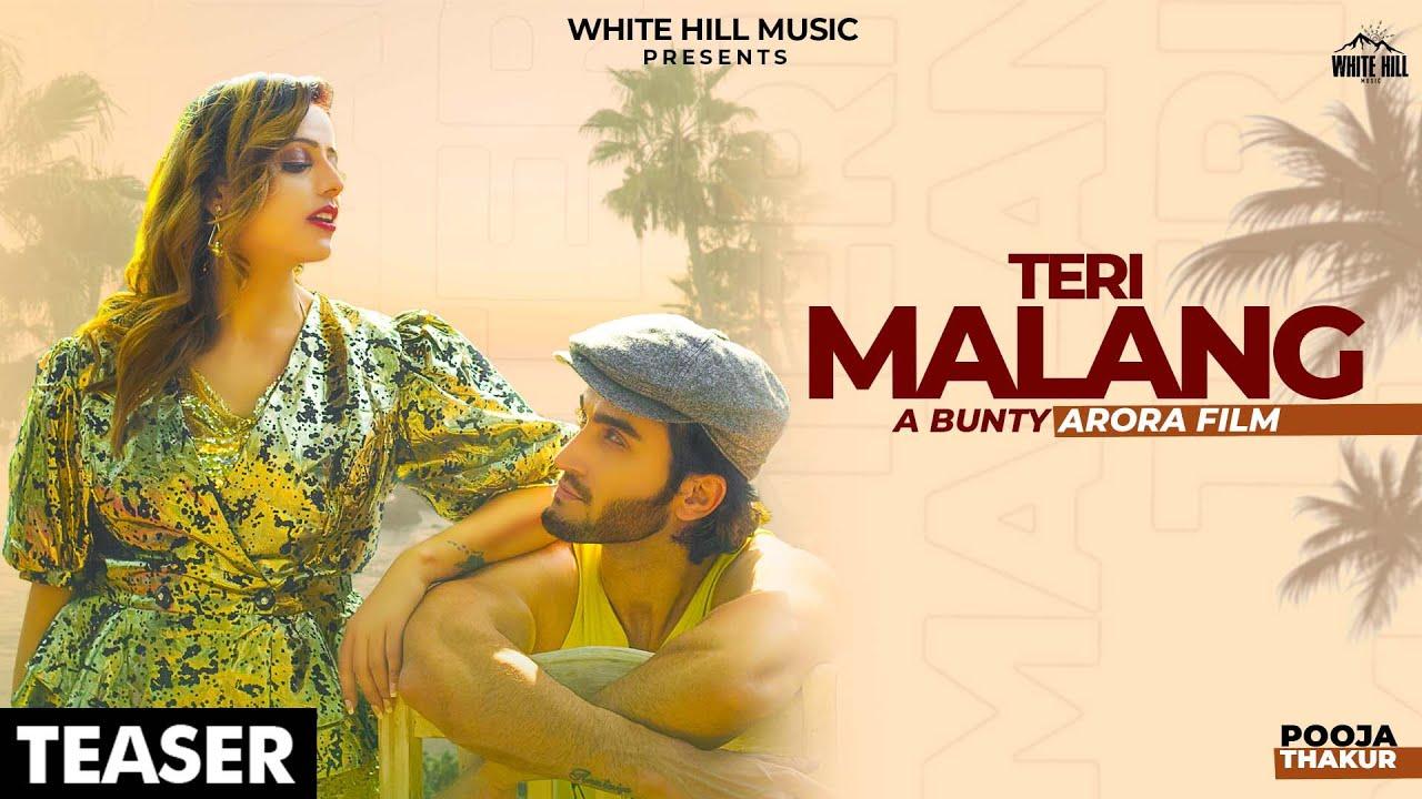 White hill music Teri Malang (Teaser) | Pooja Thakur | Rel. on 16 Sept. | White Hill Music