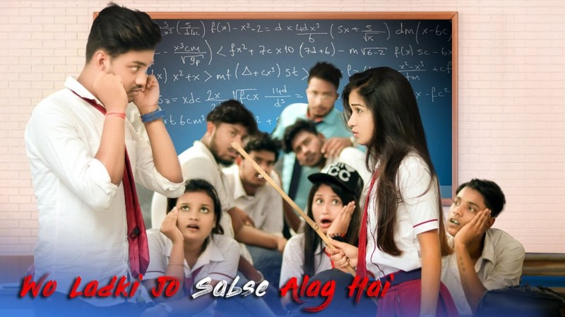 gulzar song-Wo Ladki Jo Sabse Alag Hai | Cute Love Story | Latest hindi Song 2020 | SBA Creation-gulzar chhaniwala song