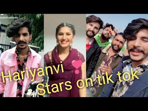 gulzar song-Celebrities on Tik Tok || Gulzar Chaniwala, anjali raghav, sapna chaudhary ||-gulzar chhaniwala song