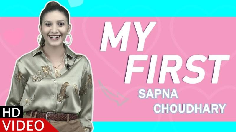 haryanvi song-Sapna Chaudhary | My First | Fun Game | Haryanvi | Speed Records Haryanvi