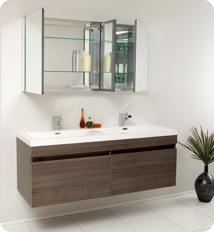 Functional Contemporary Bathroom Vanities  Contemporary