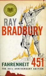 Fahrenheit 451 Book Cover