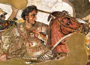Pompeii Art Alexander Great