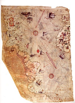 300Px-Piri Reis World Map 01