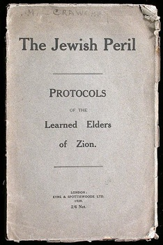 402Px-1920 The Jewish Peril - Eyre & Spottiswoode Ltd - 1St Ed..Jpg