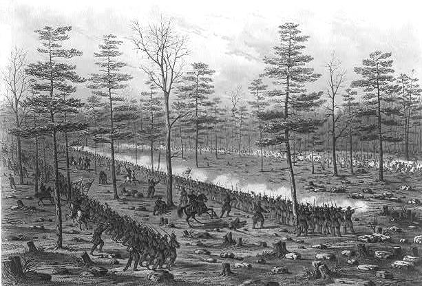 civil war battle coloring pages stones river | 10 Notable Coincidences of the American Civil War - Listverse