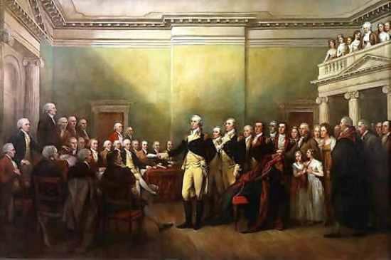 Washington Resigning