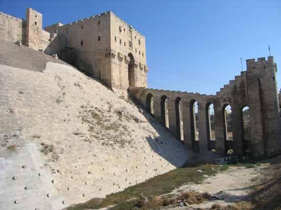 Aleppo Citadel001