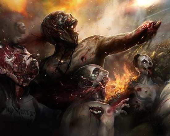 Zombies World War Z