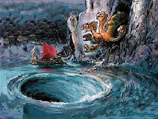 Odysseus And Scylla Top 10 Horrifying Mons...