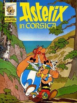 Asterix In Corsica Cover