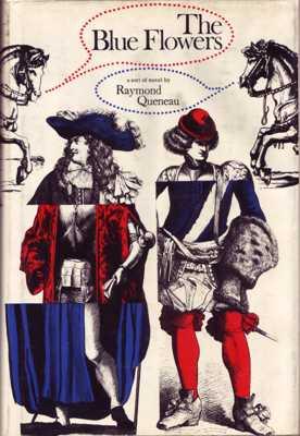 08-Raymond-Queneau--The-Blue-Flowers-(Atheneum--1967)--Jacket-Alfred-Zalon