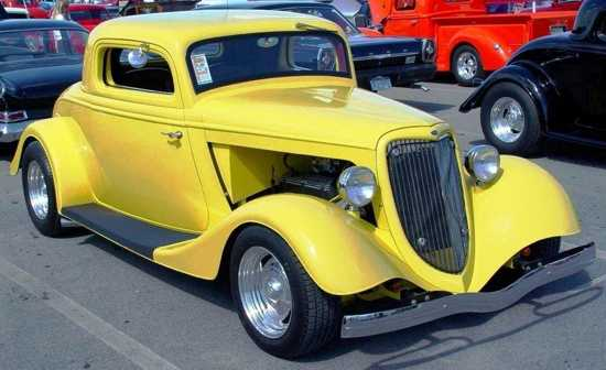 1934 Ford Coupe Yellow Car Images Ww Model Car Images Wall Paper Papers Photos Pictures Cars Pics