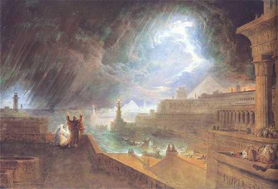 Martin%2C John - The Seventh Plague - 1823
