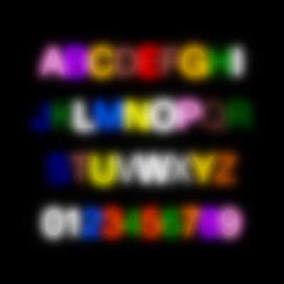 Synesthesia-Alphabet