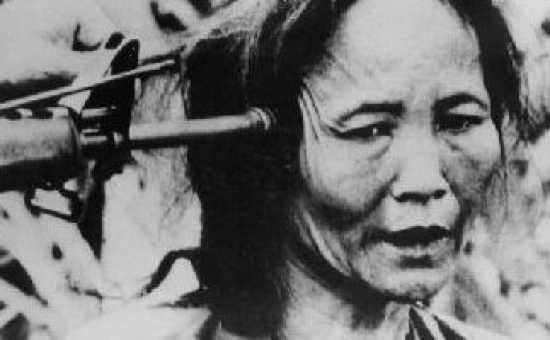 My Lai Woman Gray